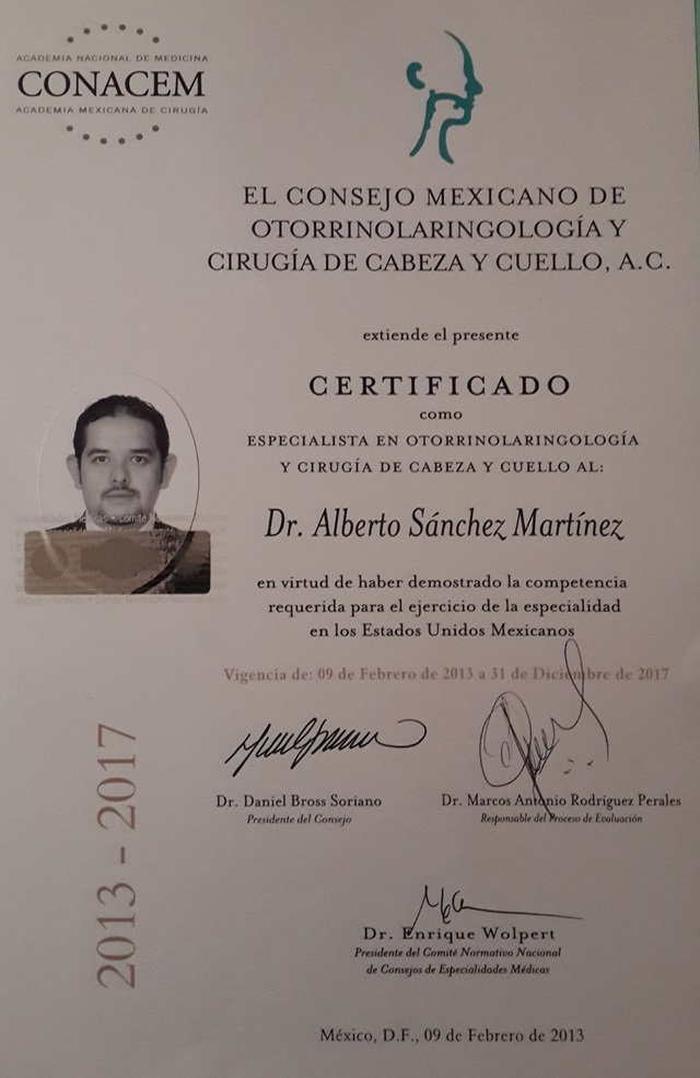 Dr. Alberto Sánchez Martínez - gallery photo
