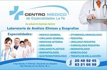 Especialidades Médicas La Fe