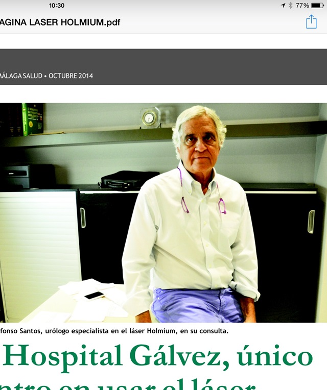 Dr. Ildefonso Santos García-Vaquero