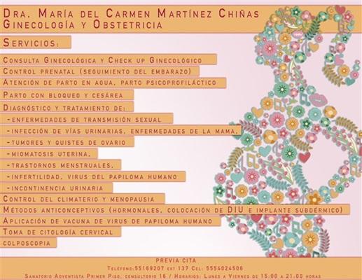 Dra. María del Carmen Martínez Chiñas - gallery photo