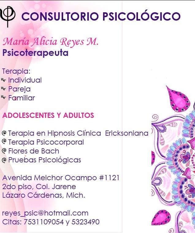 Lic. Maria Alicia Reyes