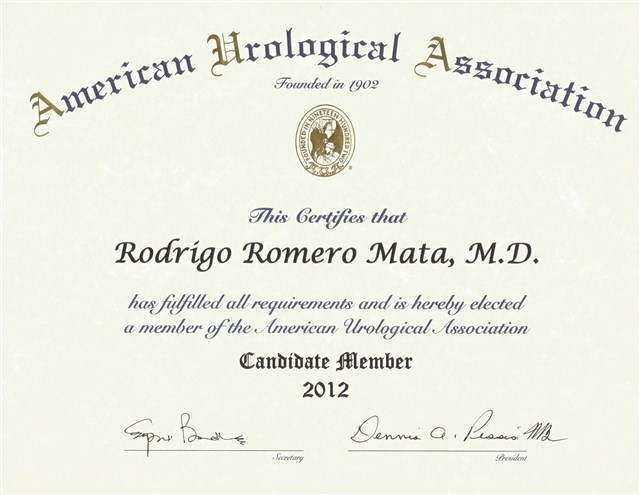 Dr. Rodrigo Romero Mata - gallery photo