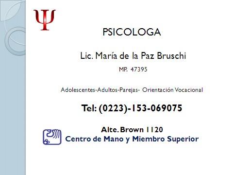 Maria de la Paz Bruschi - gallery photo