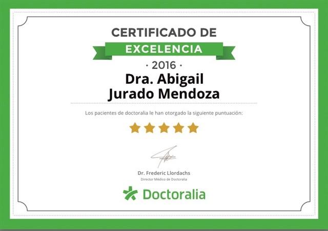 Dra. Abigail Jurado Mendoza - gallery photo