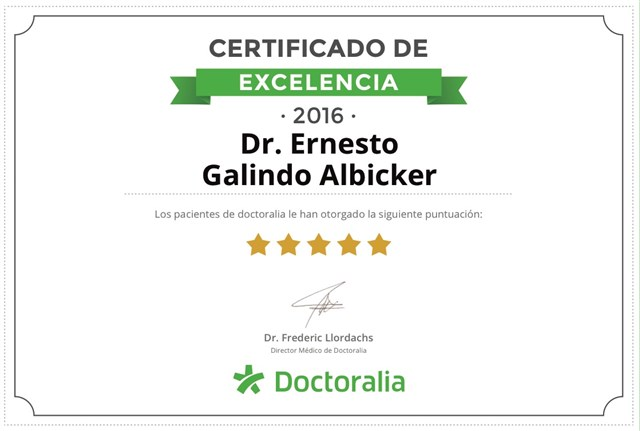 Dr. Ernesto Galindo Albicker - gallery photo