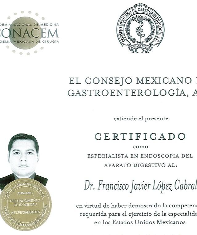 Dr. Francisco Javier Lopez Cabral - profile image