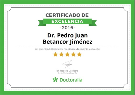 Dr. Pedro Juan Betancor Jiménez - gallery photo