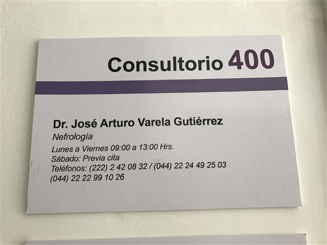 Dr. Jose Arturo Varela Gutierrez - gallery photo