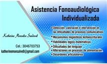 Asistencia Fonoaudiológica Individualizada