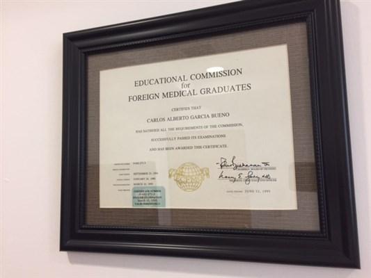 Dr. Carlos Alberto Garcia Bueno - gallery photo