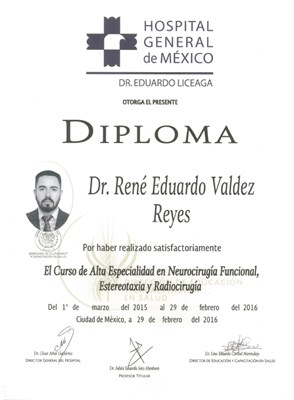 Dr. Rene Eduardo Valdez Reyes - gallery photo