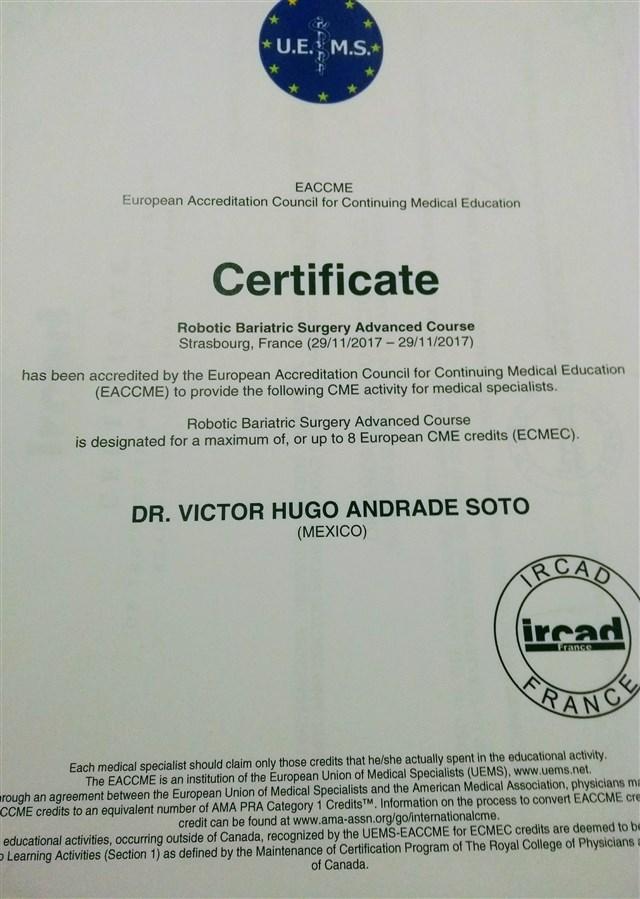 Dr. Victor Hugo Andrade Soto - gallery photo
