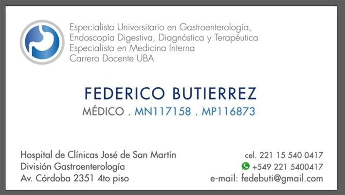 Federico Butierrez - gallery photo