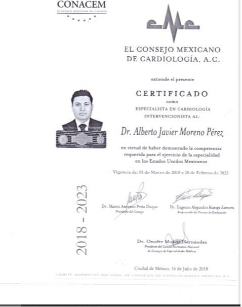 Dr. Alberto Javier Moreno Perez - gallery photo