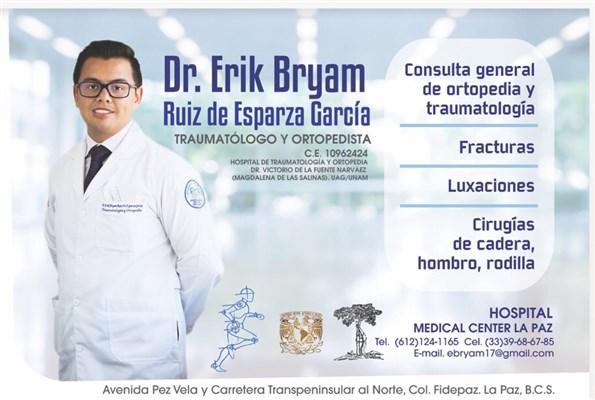 Dr. Erik Bryam Ruiz de Esparza García - gallery photo