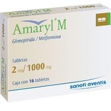 Amaryl M - Prospecto, efectos adversos, preguntas frecuentes
