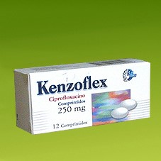 kenzoflex ciprofloxacino