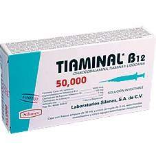 Tiaminal B12 50,000 - Prospecto, efectos adversos