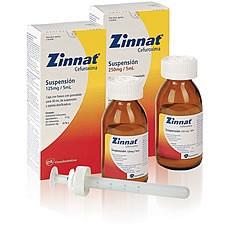 Zinnat - Prospecto, efectos adversos, preguntas frecuentes